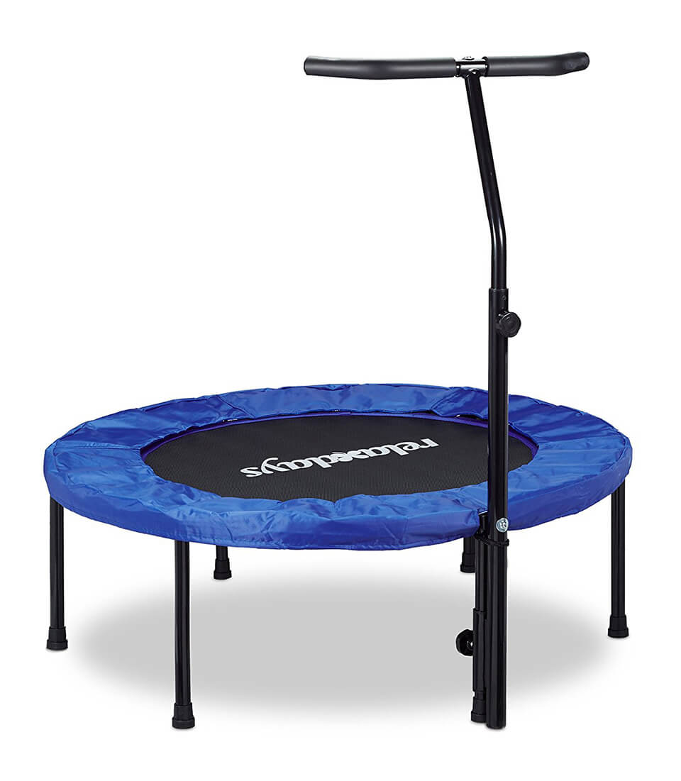 relaxdays mini trampoline