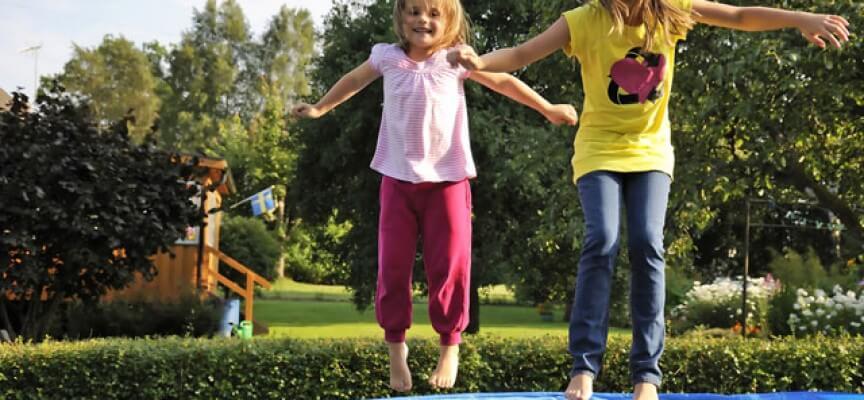 Trampolin Spiele und Übungen