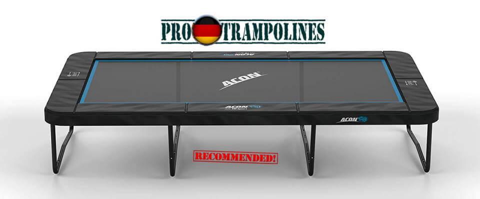 ACON rechteckige Trampolin - Air 16 Sports