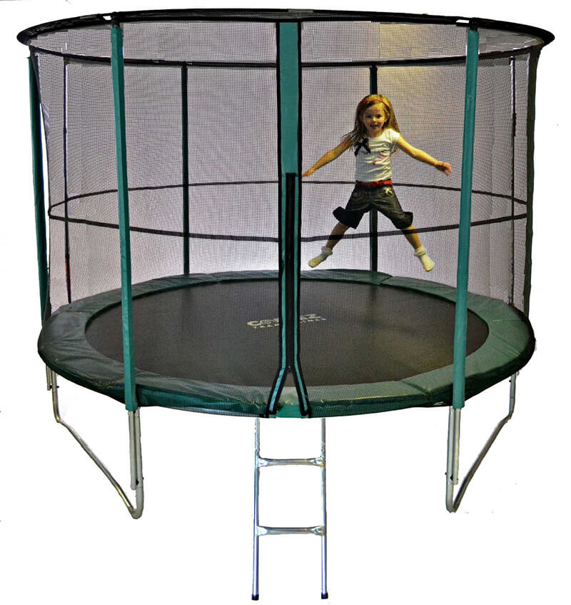 Best Trampolines In Uk With Reviews - Airmaster, Rebo, Plum..