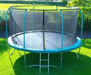 Best Trampolines In Uk With Reviews Airmaster Rebo Plum