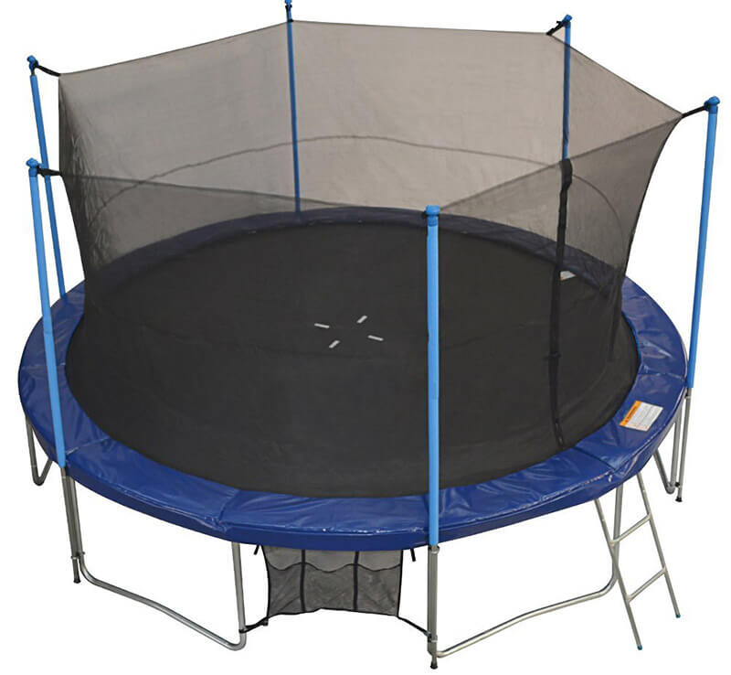 best trampolines in uk with reviews airmaster rebo plum. Black Bedroom Furniture Sets. Home Design Ideas