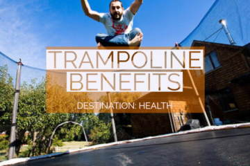 Bnefits of jumping on trampoline
