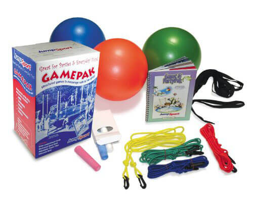 Trampoline games party pack