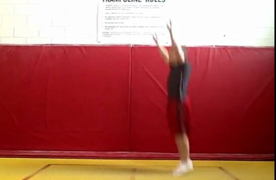 trampoline basics, learn to bounce