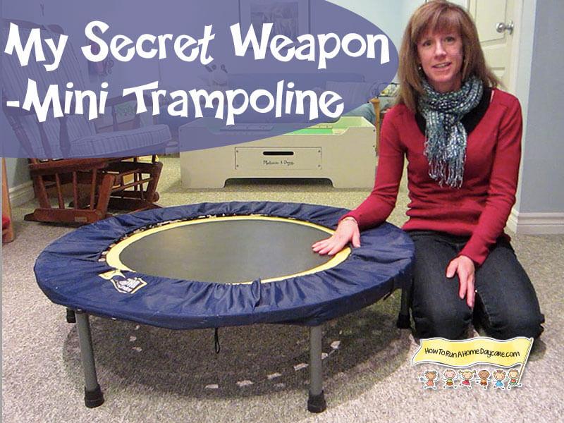 mini trampolines for moms