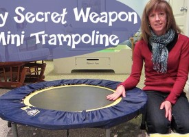 Mini Trampolines For Moms or How to Spend Time With Children!