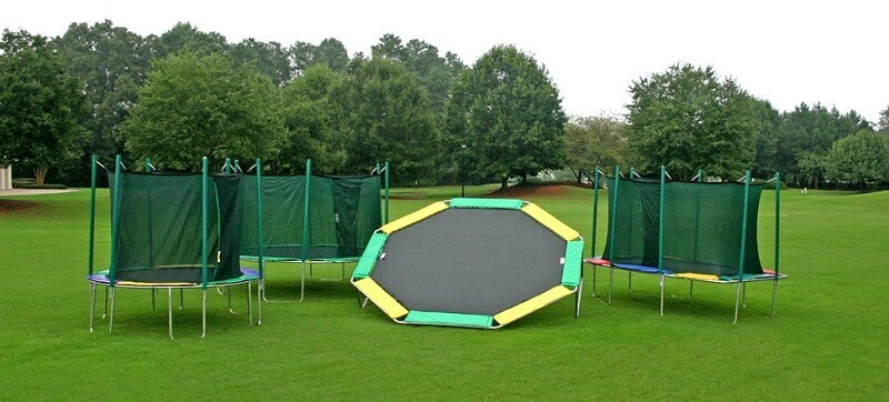 Kidwise Octagon 16 Foot Trampoline Protrampolines Com