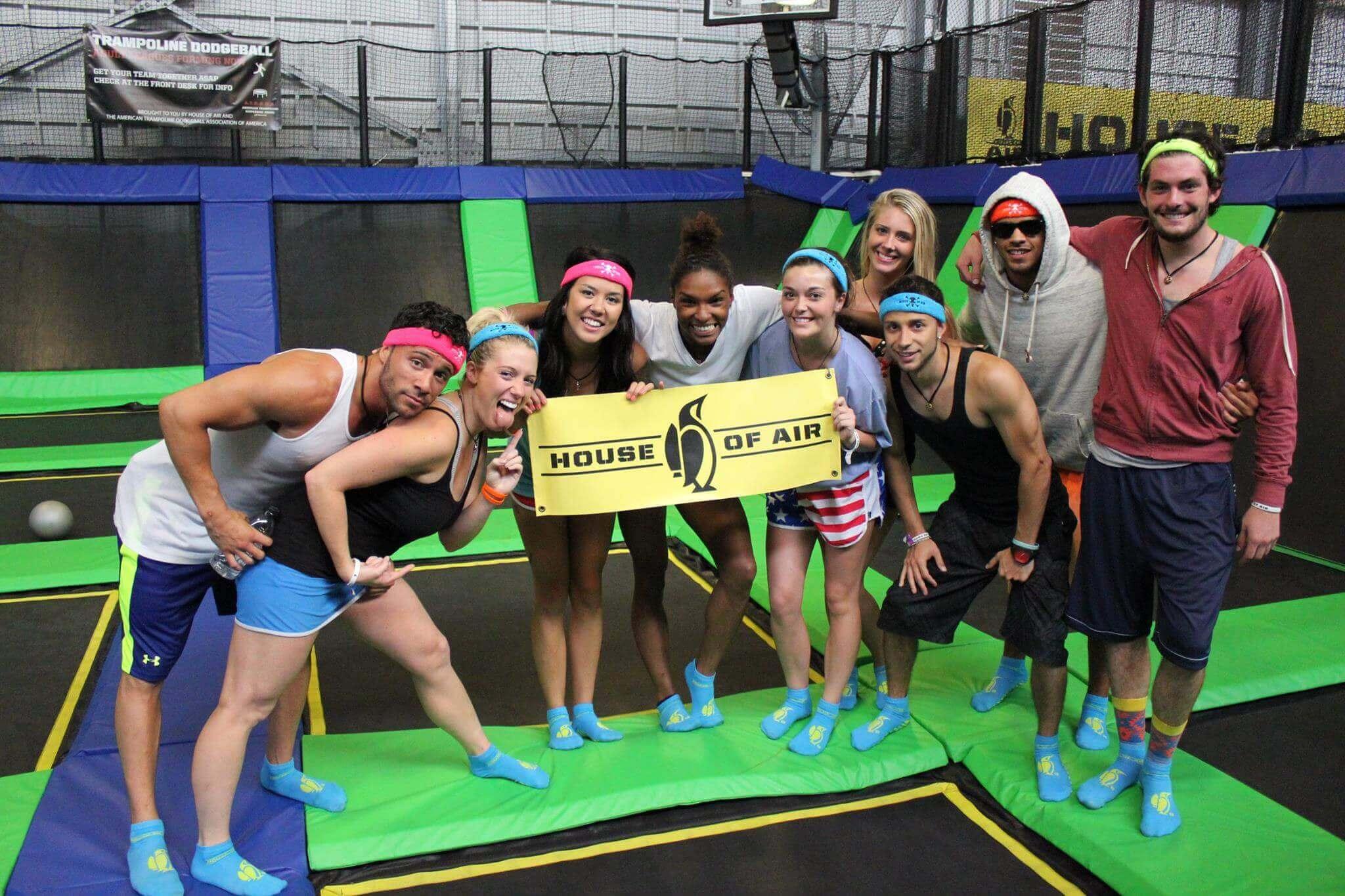 House of Air trampoline park team