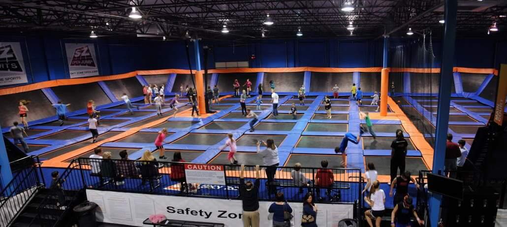 Sky Zone St. Louis, MO trampoline park
