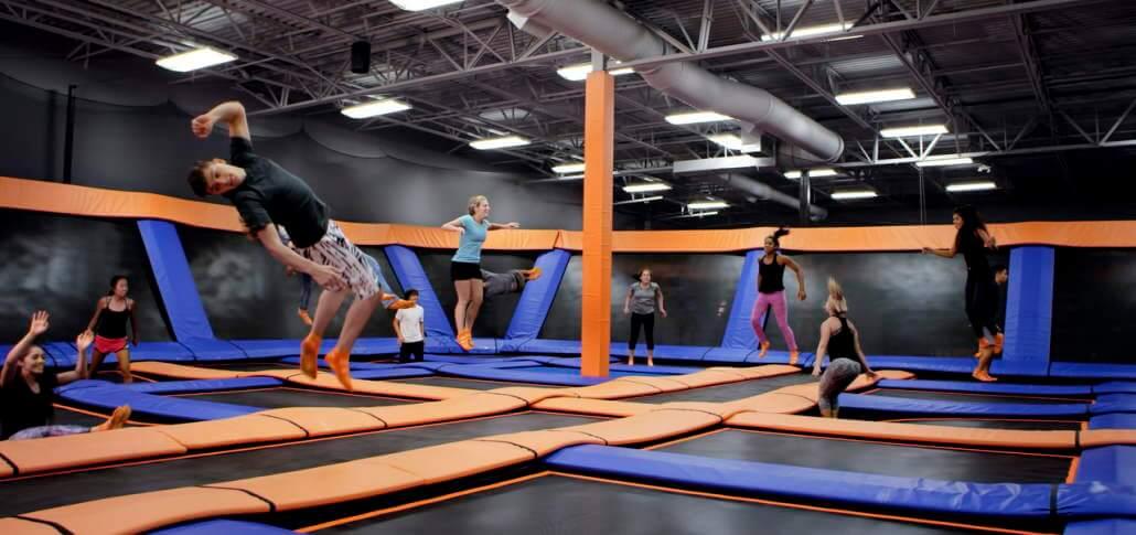 Skyzone trampoline park Ohio
