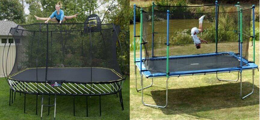 Rectangular-trampoline-or-Round-Trampoline