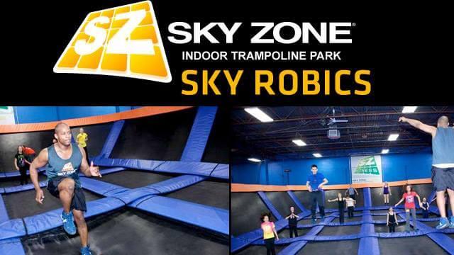 Skyzone skyrobics in deer park, ny