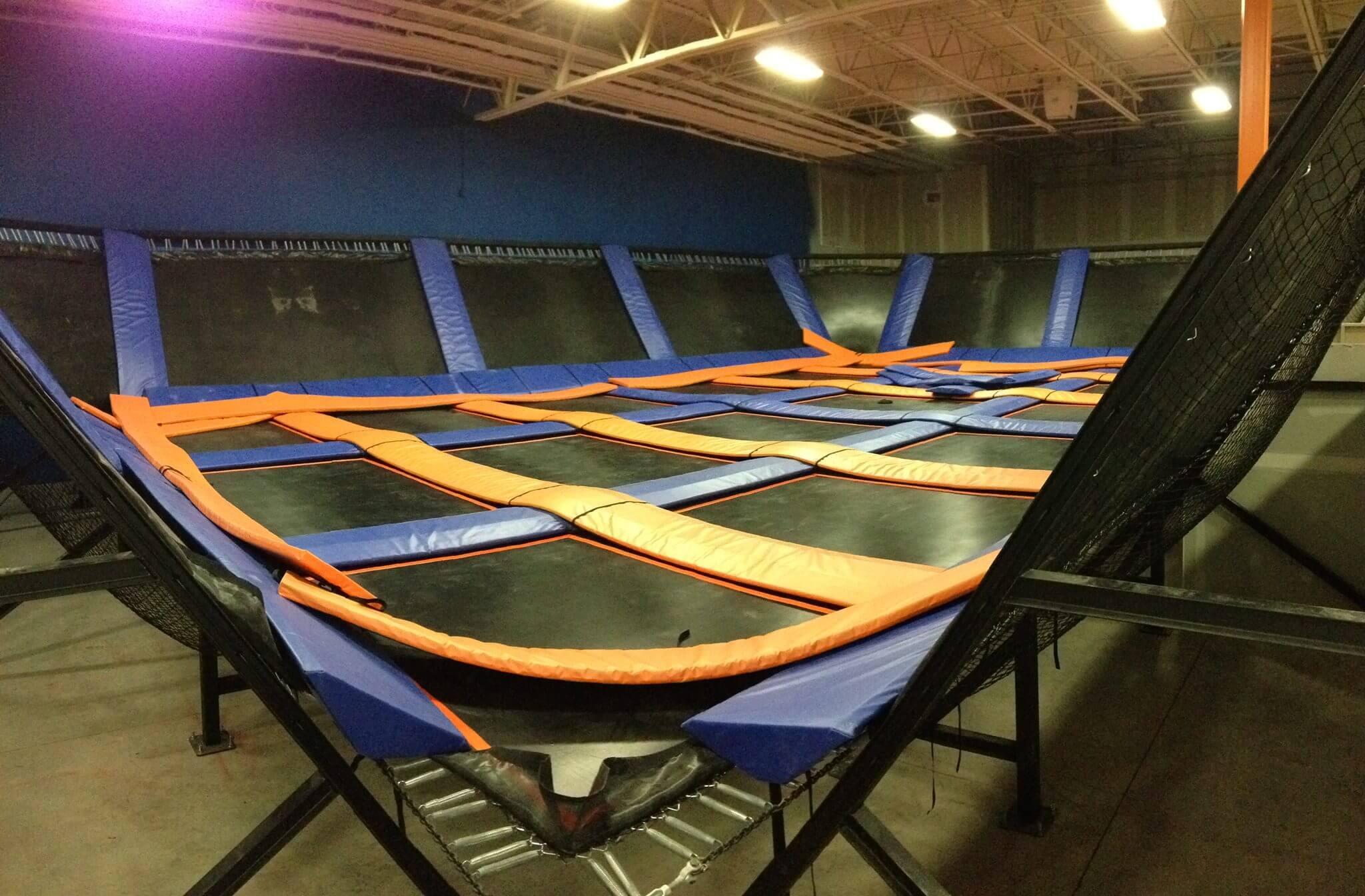 Skyzone Richmond trampoline park