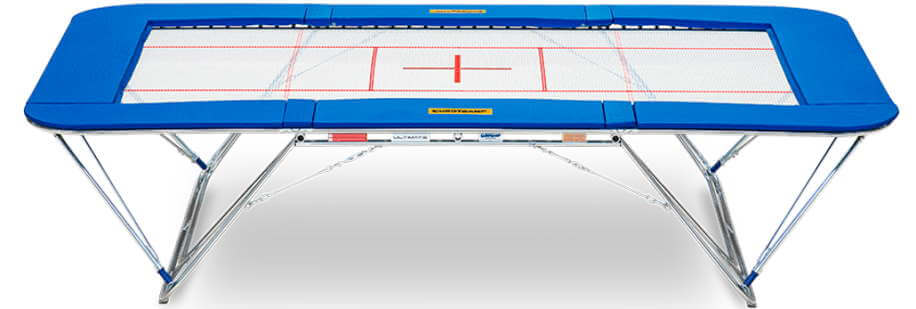 Eurotramp Ultimate 4x4 trampoline - official trampoline of most recent Olympics and Championships