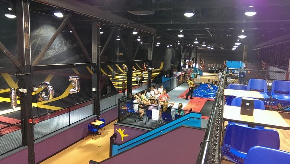 Stratosphere trampoline arena in Wilmington