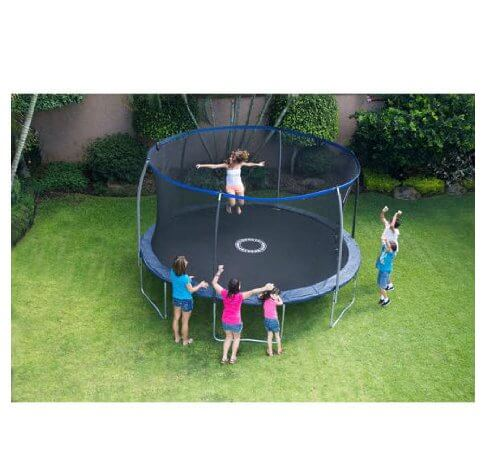 Bouncepro 14ft Trampoline With Spinner Flash Litez