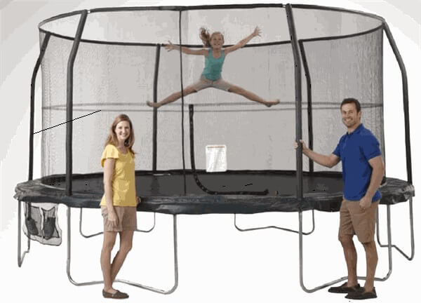 Jumpking Jumppod 15 Foot Trampoline And Enclosure