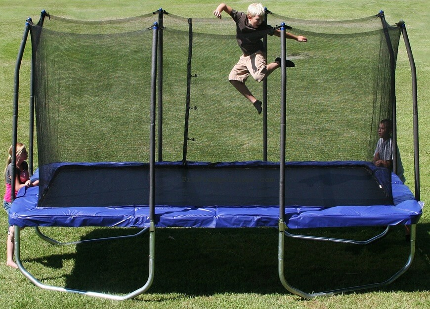 Skywalker Rectangle Trampoline 9x15ft Review
