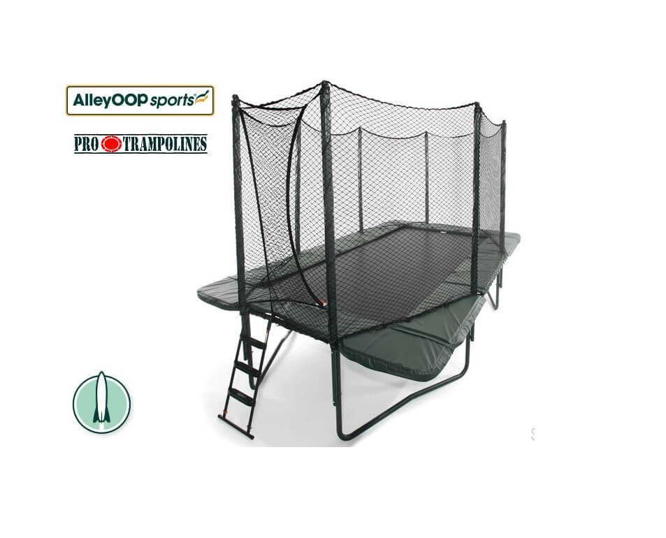 AlleyOop PowerBounce 10×17 ft Rectangle Trampoline