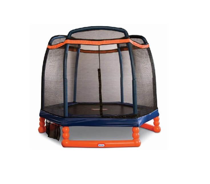 LIttle Tikes 7 ft. round trampoline for kids