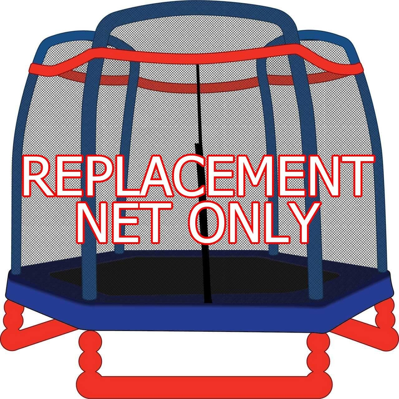 If You Need Replacement Net For 7ft Trampoline Then Can Find One Made By Skybound And Which Fits Little Tikes Super 7