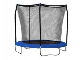 SkyWalker 8 ft. Round Trampoline with Safety Enclosure