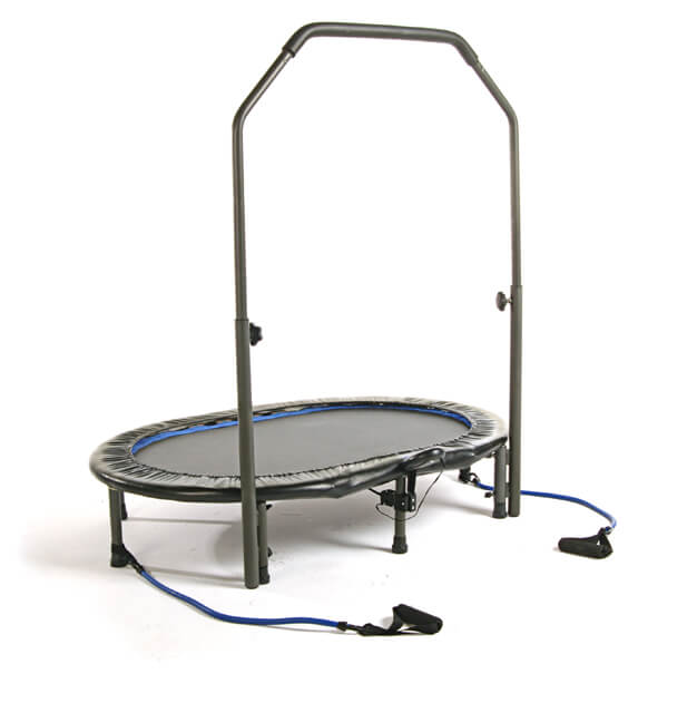 how to use a mini trampoline