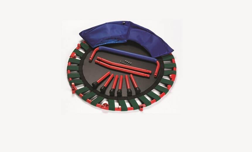 Fold & Go 3 ft Mini Trampoline for Kids