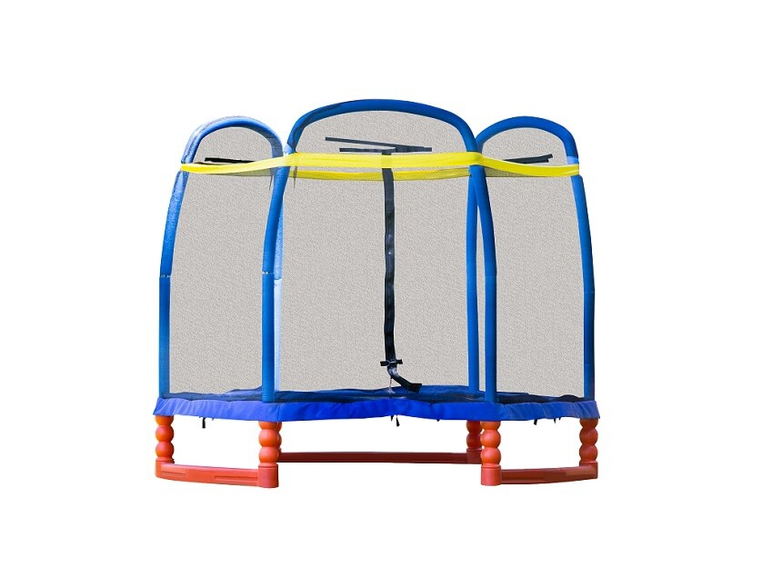 skybound super 7 trampoline for kids