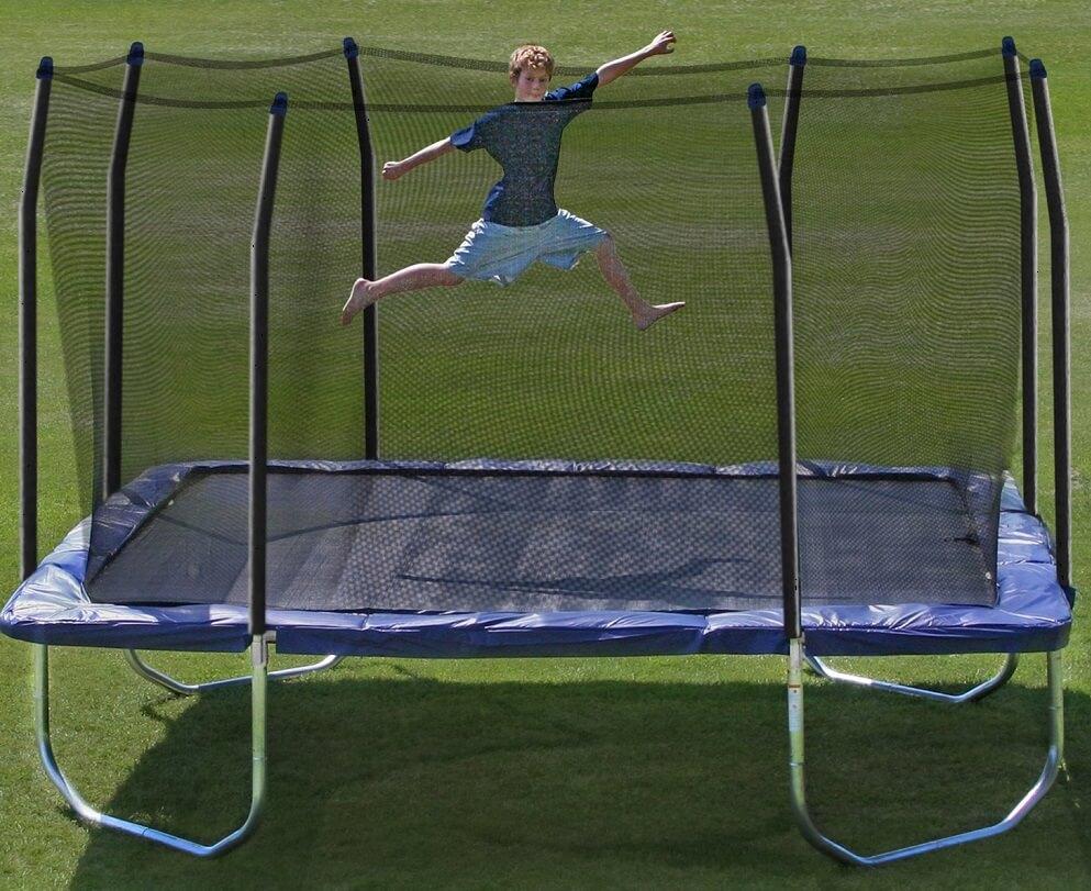 Skywalker square trampoline review for Skywalker trampoline
