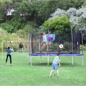 Square trampoline 14x14