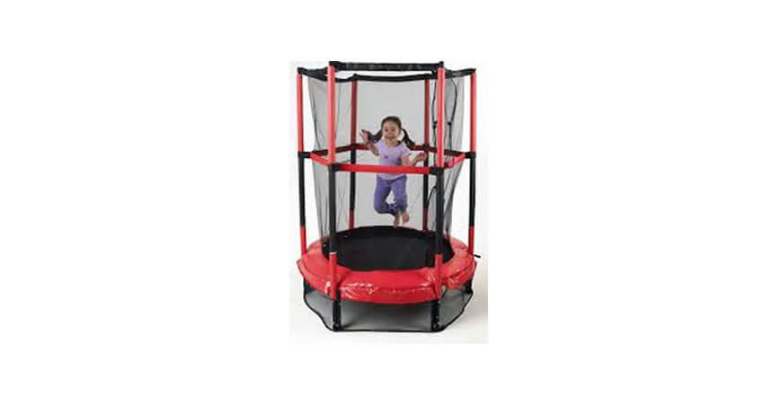 """My First trampoline - 55"""" red children's trampoline"""