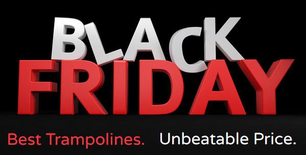 Black Friday trampolines 2020