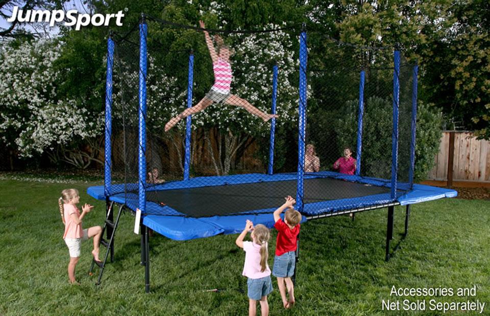 Jumpsport Stagedbounce 10 X17 Rectangular Trampoline
