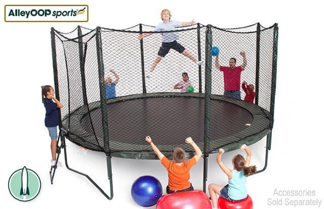 AlleyOop 14 foot round trampoline