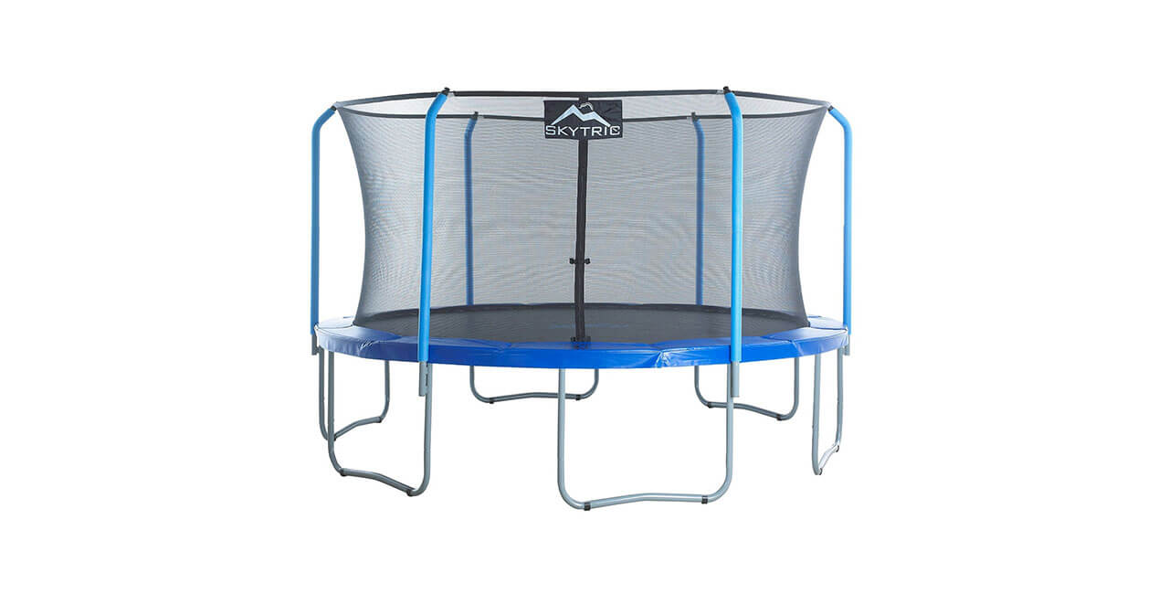 Skytric 15ft Trampoline with Enclosure