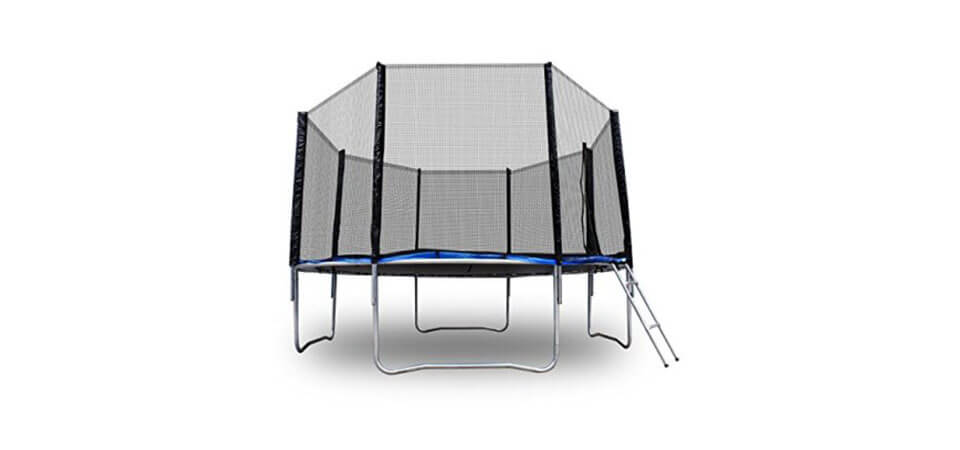 Zeny 12ft Round Trampoline with Safety Net