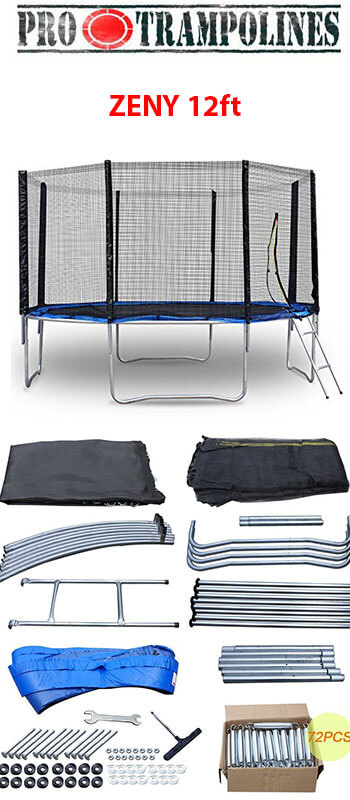 Zeny trampoline included in package