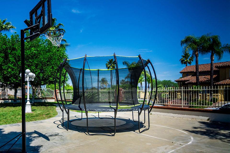 Skybound Stratos outdoor trampoline