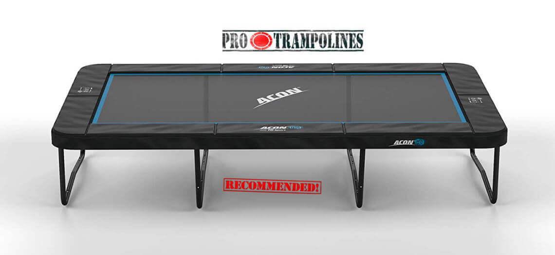 ACON Air 16 rectangular trampoline without enclosure image