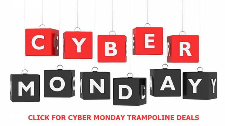 cyber monday trampoline deals