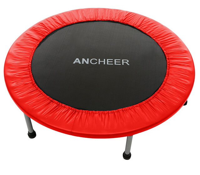 "Ancheer 40"" fitness trampoline in red"