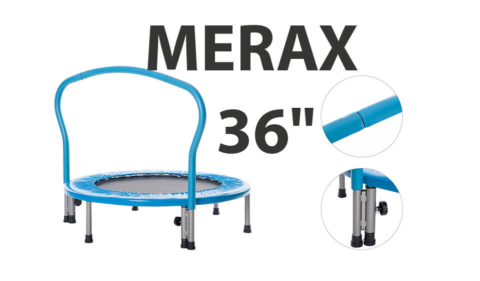 merax mini trampoline for children