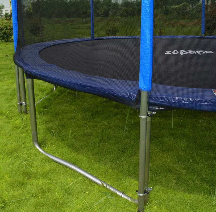 zupapa trampoline outdoors