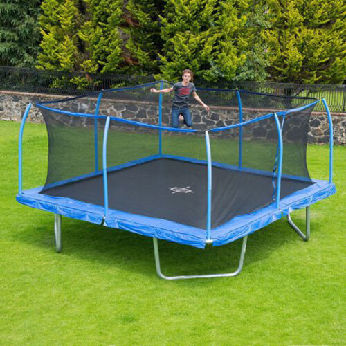 bouncepro square 15x15 ft trampoline