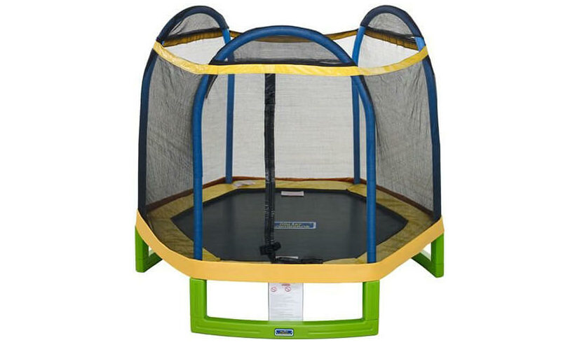 bouncepro 7ft trampoline for kids