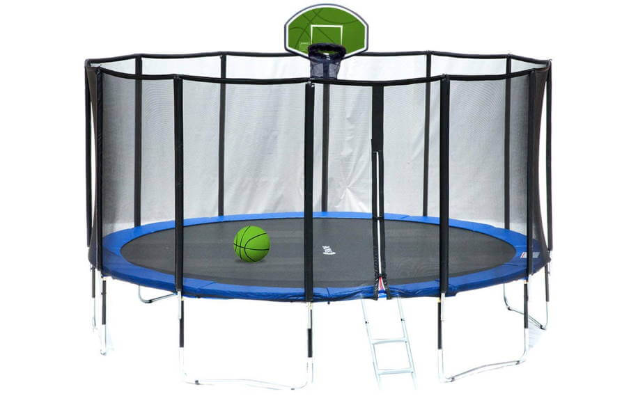 Exacme Luxury with basketball hoop included