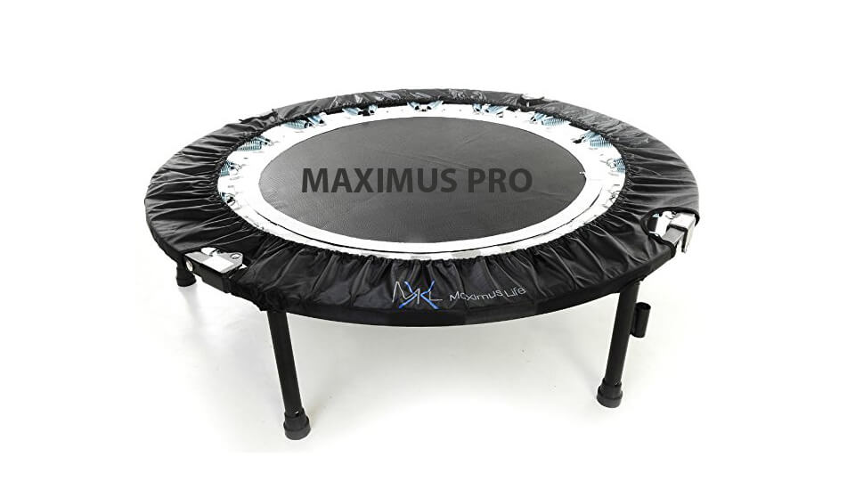 MaXimus Pro Quarter Folding Trampoline