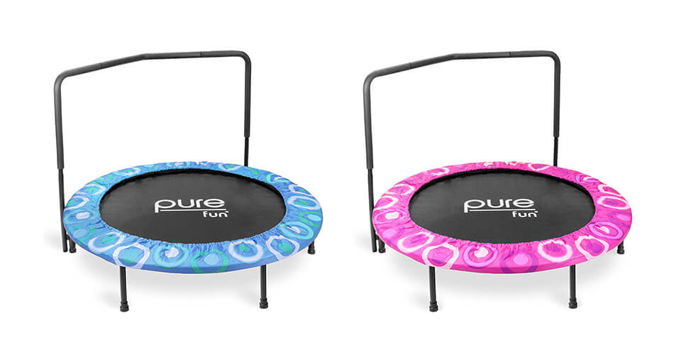 Pure Fun Super Jumper Kids Mini Trampoline